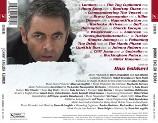 Johnny English Reborn Soundtrack (Ilan Eshkeri) - CD Trasero