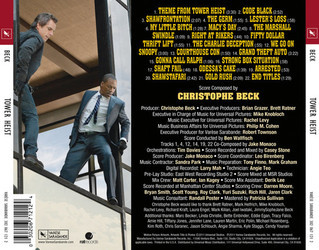 Tower Heist Soundtrack (Christophe Beck) - CD Trasero