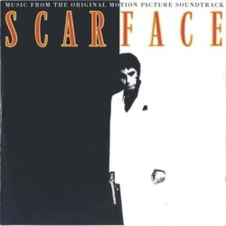 Scarface Soundtrack (Various Artists, Giorgio Moroder) - CD cover
