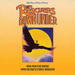 The Rescuers Down Under Soundtrack (Bruce Broughton) - Carátula