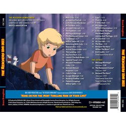 The Rescuers Down Under Soundtrack (Bruce Broughton) - CD Trasero