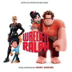 Wreck-It Ralph Soundtrack (Henry Jackman) - Carátula