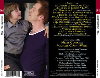 Will Soundtrack (Nigel Clarke, Michael Csányi-Wills) - CD Trasero