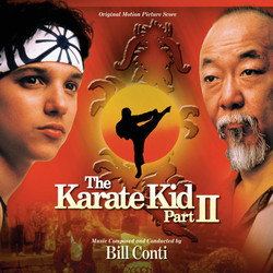 The Karate Kid: Part II Trilha sonora (Bill Conti) - capa de CD