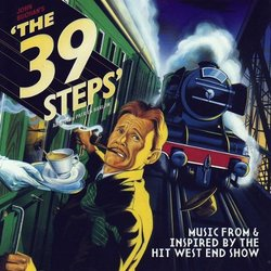 The 39 Steps: Music From And Inspired By The Hit West End Show 声带 (Various Artists) - CD封面