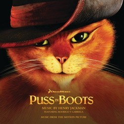 Puss in Boots Soundtrack (Henry Jackman) - Carátula