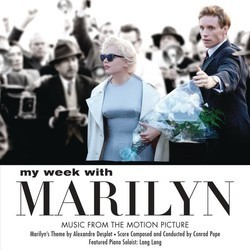 My Week With Marilyn Soundtrack (Alexandre Desplat, Conrad Pope) - Car�tula