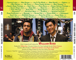 A Very Harold & Kumar 3D Christmas Soundtrack (William Ross) - CD Trasero