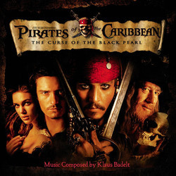 Pirates of the Caribbean: The Curse of the Black Pearl Trilha sonora (Klaus Badelt) - capa de CD