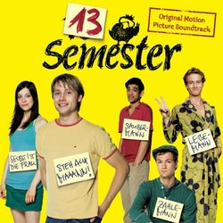 13 Semester Soundtrack (Oliver Thiede) - CD-Cover