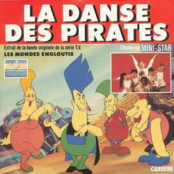 La Danse des Pirates Soundtrack (Mini-Star , Vladimir Cosma) - CD cover