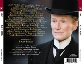 Albert Nobbs Soundtrack (Brian Byrne) - CD Trasero