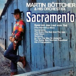 Sacramento Soundtrack (Various Artists, Martin Böttcher) - CD-Cover