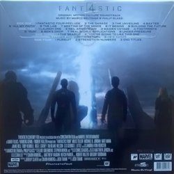 Fantastic Four Bande Originale (Marco Beltrami, Philip Glass) - CD Arrière