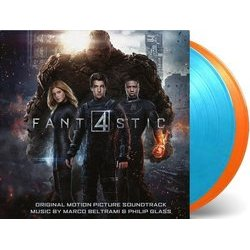 Fantastic Four Bande Originale (Marco Beltrami, Philip Glass) - cd-inlay