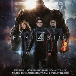 Fantastic Four Bande Originale (Marco Beltrami, Philip Glass) - Pochettes de CD