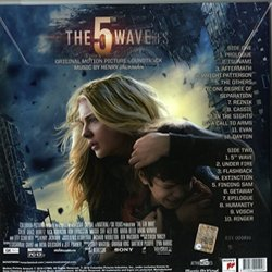 The 5th Wave Colonna sonora (Henry Jackman) - Copertina posteriore CD