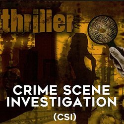 Thriller: Crime Scene Investigation CSI Soundtrack (Richard Friedman, Jason Moss) - CD cover