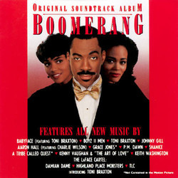 Boomerang Soundtrack (Various Artists) - Carátula