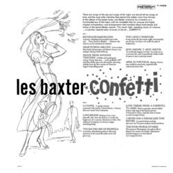 Confetti Soundtrack (Various Artists, Les Baxter) - CD Achterzijde