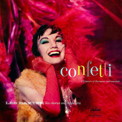 Confetti Soundtrack (Various Artists, Les Baxter) - CD cover