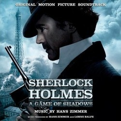 Sherlock Holmes: A Game of Shadows Soundtrack (Hans Zimmer) - CD cover
