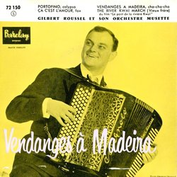 Vendanges à Madeira Soundtrack (Malcolm Arnold, Various Artists) - CD cover