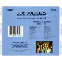 Toy Soldiers Soundtrack (Robert Folk) - CD Trasero