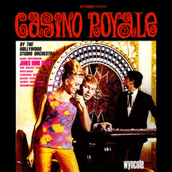Casino Royale サウンドトラック (Various Artists, Burt Bacharach, John Barry, The Hollywood Studio Orchestra) - CDカバー