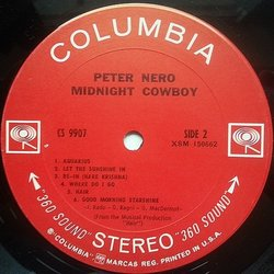 Midnight Cowboy Soundtrack (Various Artists, Peter Nero) - cd-carátula