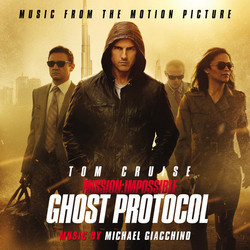 Mission: Impossible - Ghost Protocol Soundtrack (Michael Giacchino) - Carátula