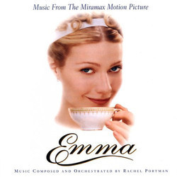 Emma Soundtrack (Rachel Portman) - CD cover