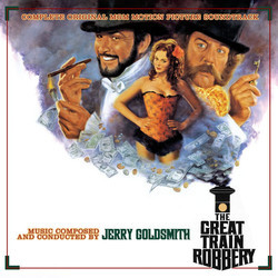 The Great Train Robbery Soundtrack (Jerry Goldsmith) - Car�tula