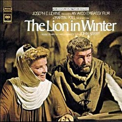 The Lion in Winter Soundtrack (John Barry) - CD cover