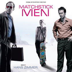 Matchstick Men Soundtrack (Various Artists, Hans Zimmer) - CD cover