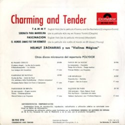 Charming And Tender 聲帶 (Various Artists, Charlie Chaplin, Frank Skinner, Victor Young) - CD後蓋