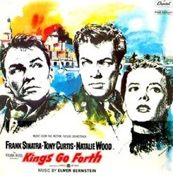 Kings go Forth Soundtrack  (Elmer Bernstein) - CD cover