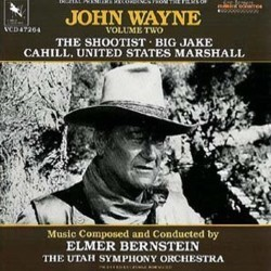 The Films of John Wayne: Volume Two Soundtrack (Elmer Bernstein) - CD cover