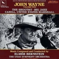 John Wayne: Volume Two Soundtrack  (Elmer Bernstein) - CD cover