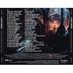 The Haunted Mansion Soundtrack (Mark Mancina) - CD Achterzijde