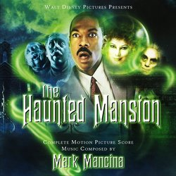 The Haunted Mansion Soundtrack (Mark Mancina) - CD cover