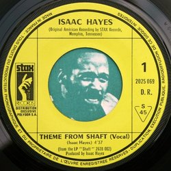 Shaft Bande Originale (Isaac Hayes, J.J. Johnson) - cd-inlay