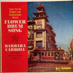 Barbara Carroll ‎– Flower Drum Song Soundtrack (Oscar Hammerstein, Richard Rodgers) - CD cover