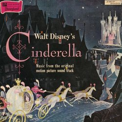 Walt Disney's Cinderella Soundtrack (Paul J. Smith, Oliver Wallace) - CD cover