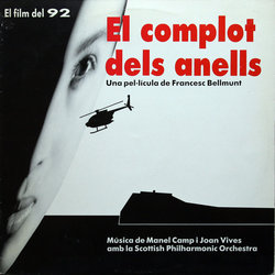 El Complot dels anells Soundtrack (Manel Camp) - CD cover