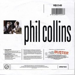 Buster Colonna sonora (Phil Collins, Anne Dudley) - Copertina posteriore CD