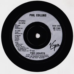 Buster Colonna sonora (Phil Collins, Anne Dudley) - cd-inlay