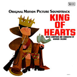 King of Hearts Soundtrack  (Georges Delerue) - CD cover