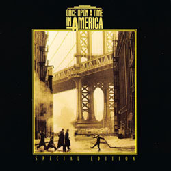 Once Upon a Time in America Soundtrack (Ennio Morricone) - CD cover