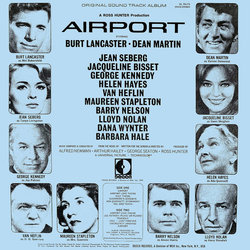 Airport Soundtrack (Alfred Newman) - CD Trasero